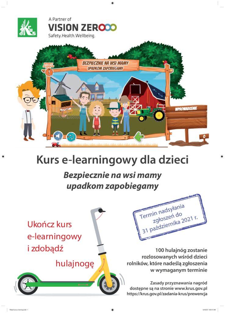 Plakat konkursu KRUS