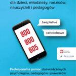 telefon z numerem infolini