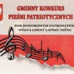 Plakat Konkursu Pieśni Patriotycznych